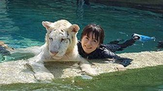 ライガーと鈴木砂羽さん